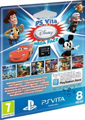 PSVita Memory Stick 8GB Original Display + Gutschein zum Download