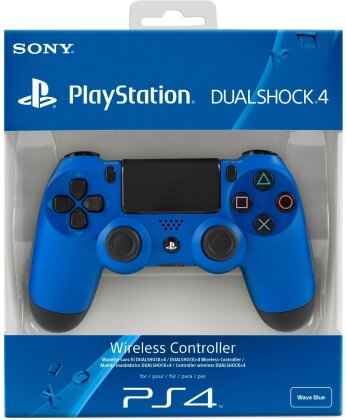 PS4 Controller original Wave Blue wireless Dual Shock 4