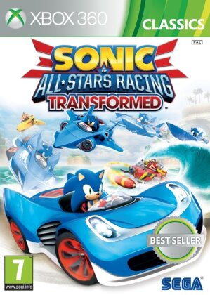 Sonic All-Stars Racing Transformed Classics