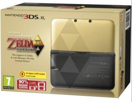 3DS Konsole XL Zelda gold limitiert (inkl. Zelda Game)