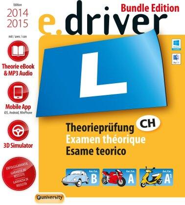 e.Driver 2014 - Das Schweiz. Lernprogramm für die Theorieprüfung