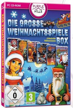 Große Weihnachtsspiele-Box