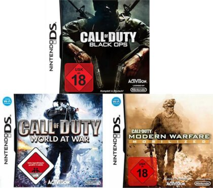Call Of Duty - Tripple Pack WAW+MW Mobilized+Black Ops