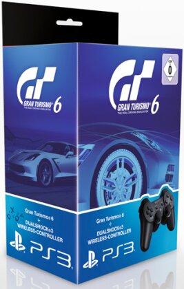 Gran Turismo 6 + Controller schwarz (Sony Bundle)