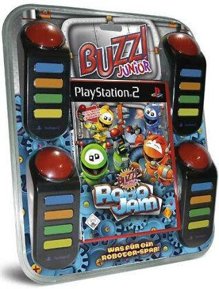 Buzz PS-2 Junior Robo Jam + 4Buzzer