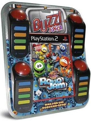 Buzz PS-2 Junior Robo Jam + 4Buzzer