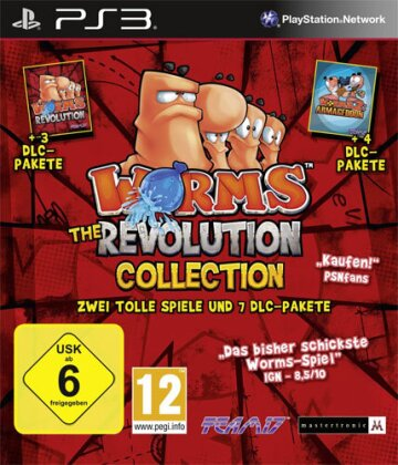 Worms Revolution Collection inkl. Worms 2 Armageddon