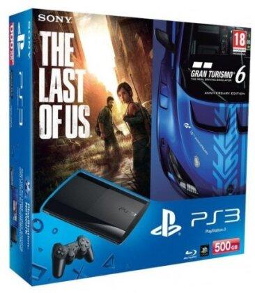 Sony PS3 500GB Gran Turismo 6 + Last of Us