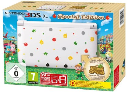 Nintendo 3DS XL White incl. Animal Crossing: New Leaf