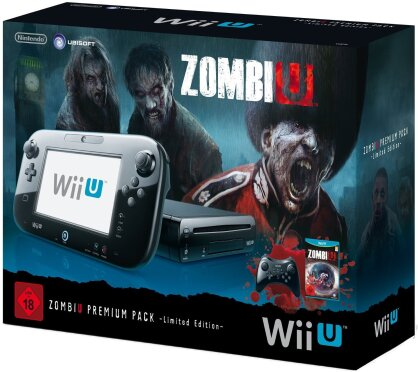 WiiU Konsole Premium + ZombiU