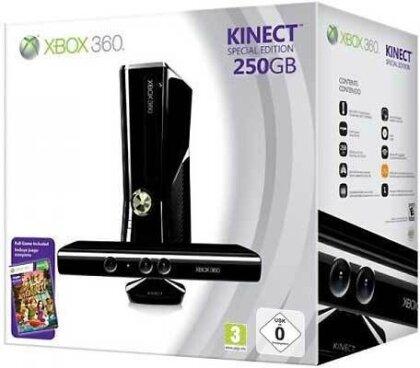 XB360 Konsole 250 GB + Kinect Sensor