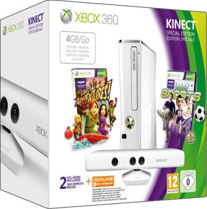 XB360 Konsole 4GB white +Kinect +Sport + 3 Monate 2012-03-04