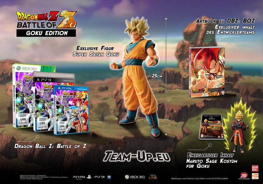 Dragon Ball Z - Battle of Z ( Goku Edition)