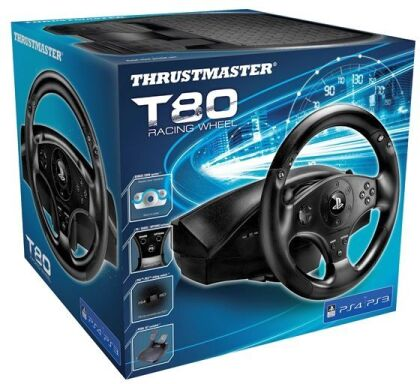 TM T80 Offical PS4 Wheel for PS4/PS3