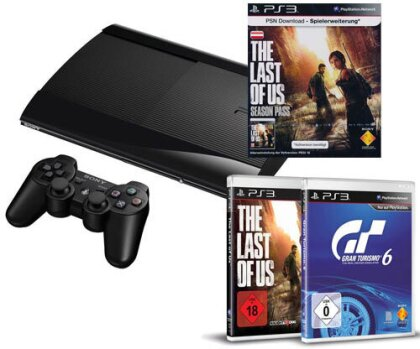 Sony PS3 500GB + 3 Games