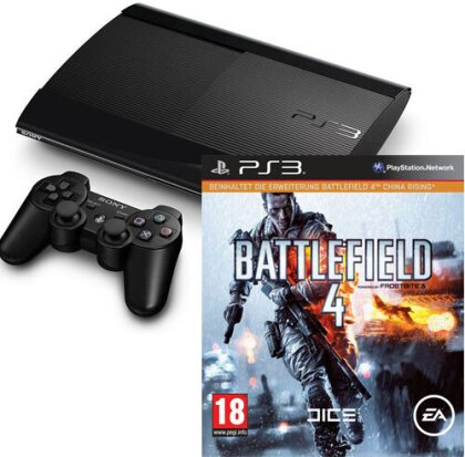 Sony Playstation 3 12 GB + Battlefield 4