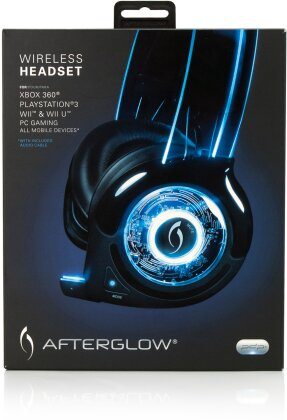 Afterglow Wireless Headset - blue