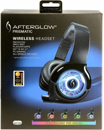 Afterglow Prismatic Wireless Headset