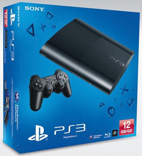 Playstation 3 Console 12 GB Super Slim Black