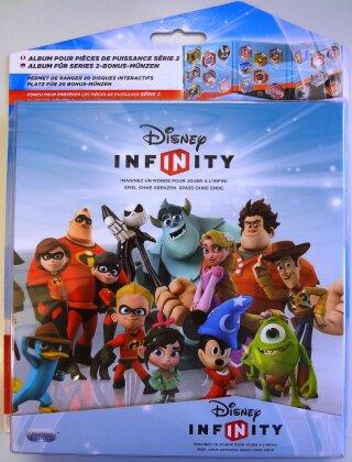 Album für Series 2-Bonus-Münzen - Disney Infinity