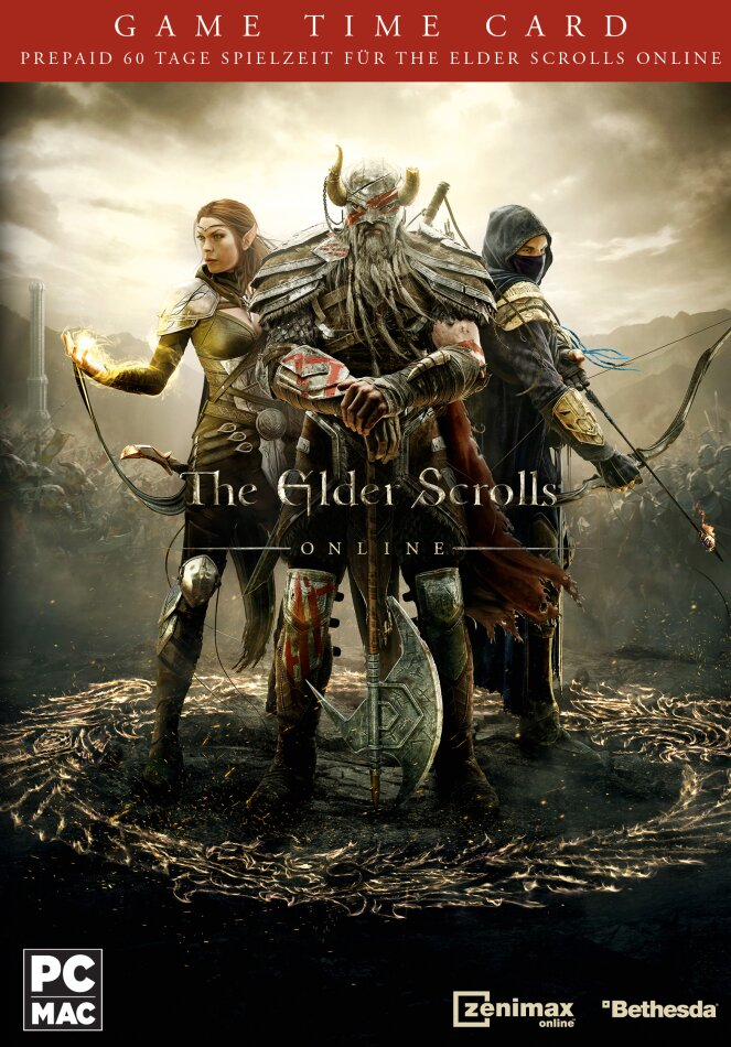 The Elder Scrolls Online - 60 Tage Game Time Card