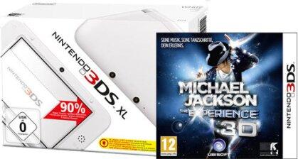 3DS Konsole XL white + MJ Experience (ohne Netzteil)