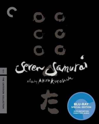 Seven Samurai (1954) (Criterion Collection, 2 Blu-ray)