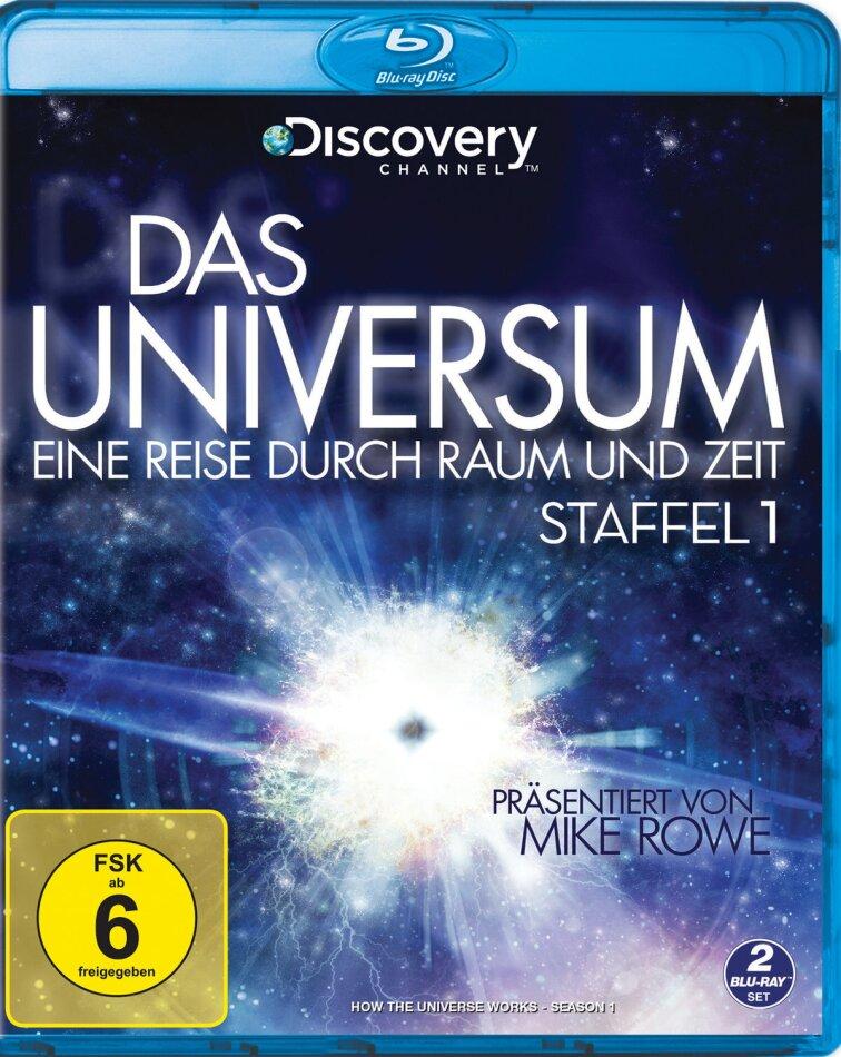 Das Universum - Eine Reise durch Raum und Zeit - Staffel 1 (Discovery Channel, 2 Blu-rays)