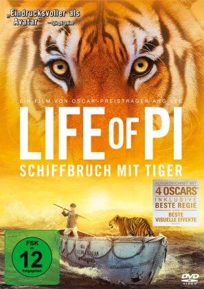 Life of Pi - Schiffbruch mit Tiger (2012)