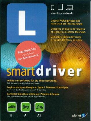 smartdriver Fahrschule Online inkl. Buch (Kat. B/A/A1 - Code only)