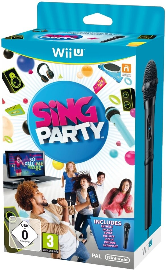 Sing Party [incl. 1 USB- Microphone]