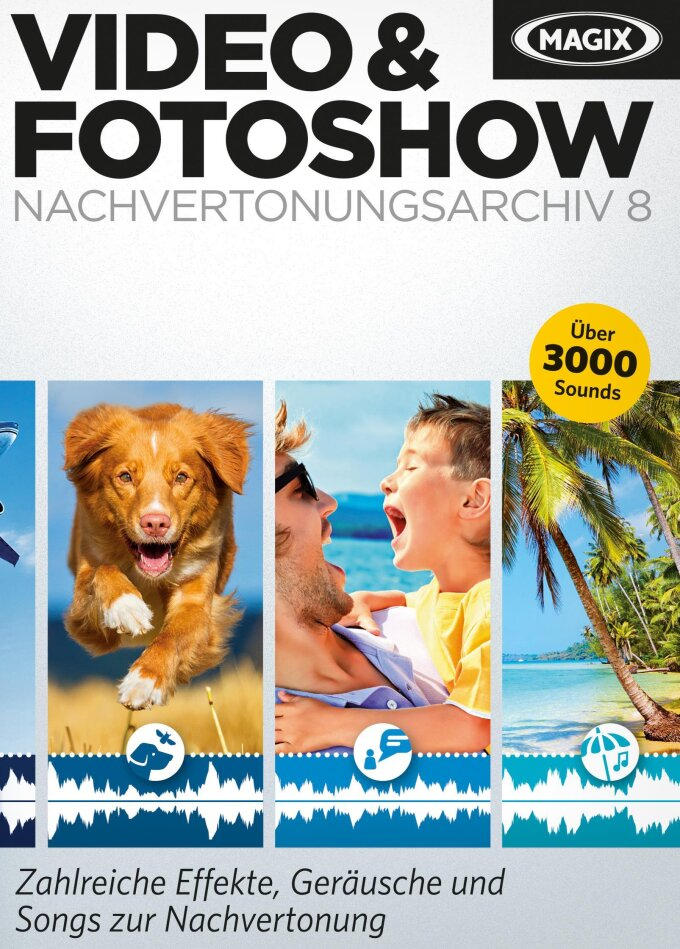 Magix Video & Fotoshow Nachvertonungsarchiv 8