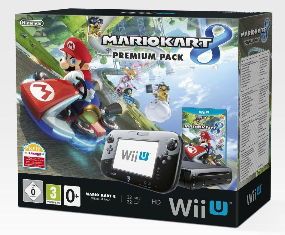 Nintendo Wii U Mario Kart 8 Bundle