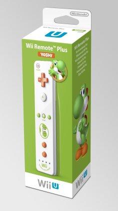 Wii U Remote Plus Yoshi's Edition