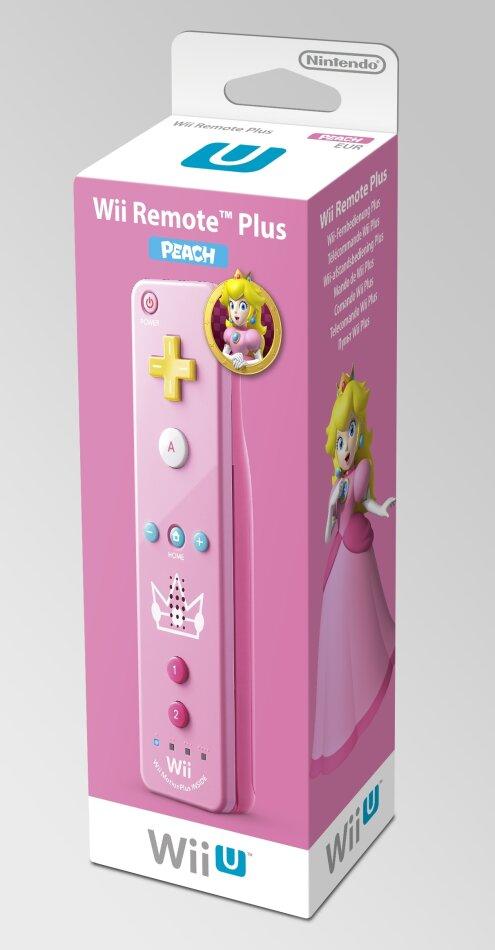 Wii U Remote Plus Peach Edition