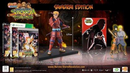 Naruto Shippuden Ultimate Ninja Storm Revolution (Samuari Edition)