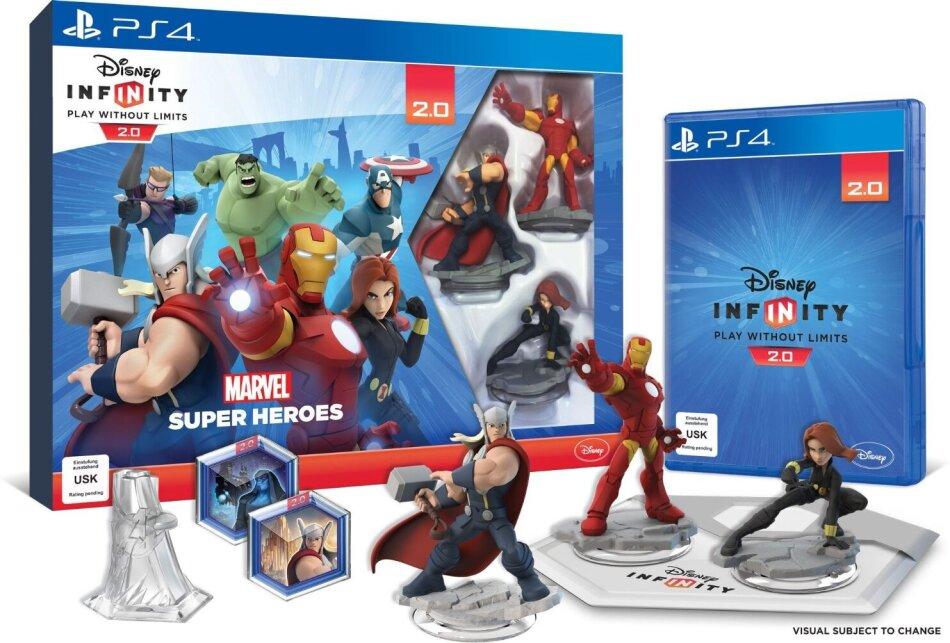 Disney Infinity 2.0 - Marvel Super Heroes Pack de Démarrage
