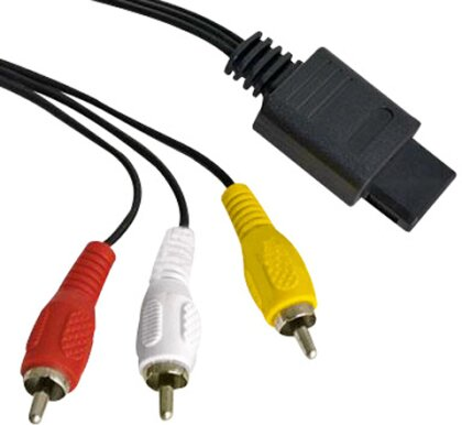 Multi AV Chinch Kabel N64, SNES - GC