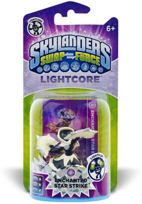 Enchanted Star Strike Light Core Character for Skylanders Swap Force