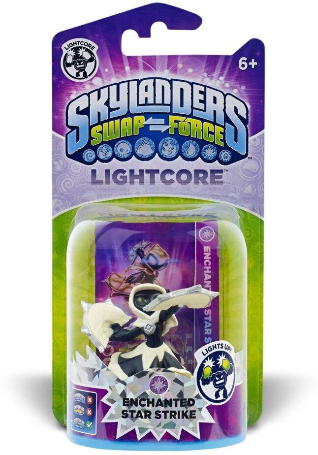 Enchanted Star Strike Light Core Character for Skylanders Swap Force