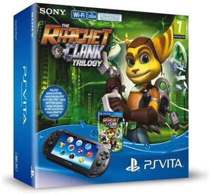 PSVita Konsole WiFi + Ratchet & Clank Trilogy