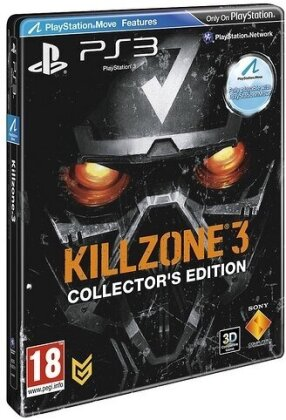 Killzone 3 (Move kompatibel) -- (Édition Collector)