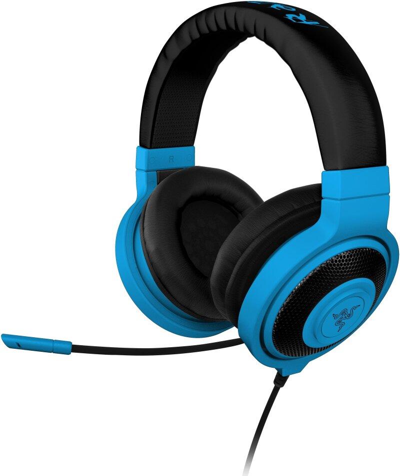 Razer Kraken Pro NEON - Gaming Headset - blue