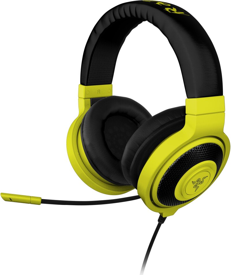 Razer Kraken Pro NEON - Gaming Headset - yellow