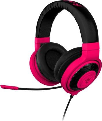 Razer Kraken Pro NEON - Gaming Headset - red