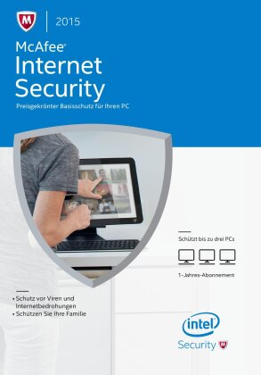 McAfee Internet Security 2015 - 3 User Upgrade (PC)