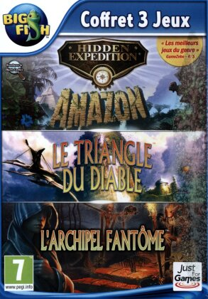 Hidden Expedition - Triple pack 3+4+5