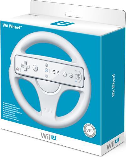 WII U Wheel White