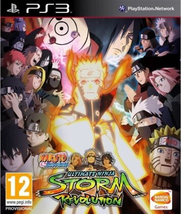 Naruto Shippuden: Ultimate Ninja Storm Revolution (Day1 Edition)