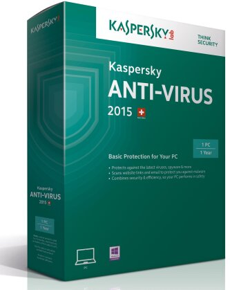 Kaspersky Antivirus 2015 1User (PC)